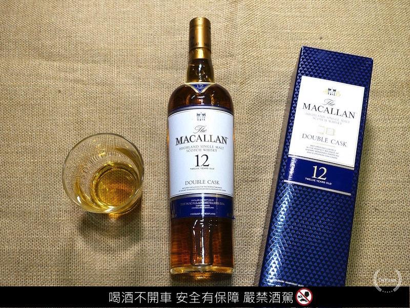 MACALLAN麥卡倫雪莉雙桶Double Cask12年單一麥芽威士忌