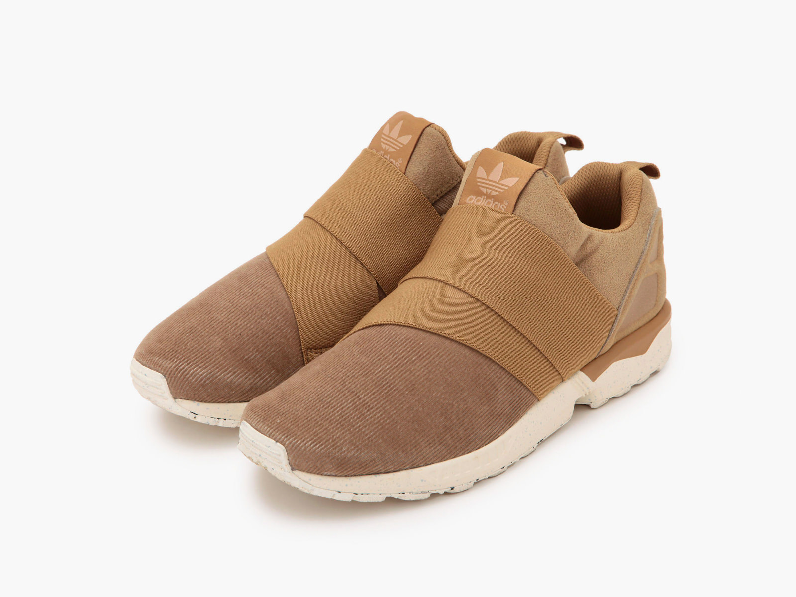 "adidas Originals for UNITED ARROWS & SONS ZX FLUX SLIP ON UAS ""CAMEL"""