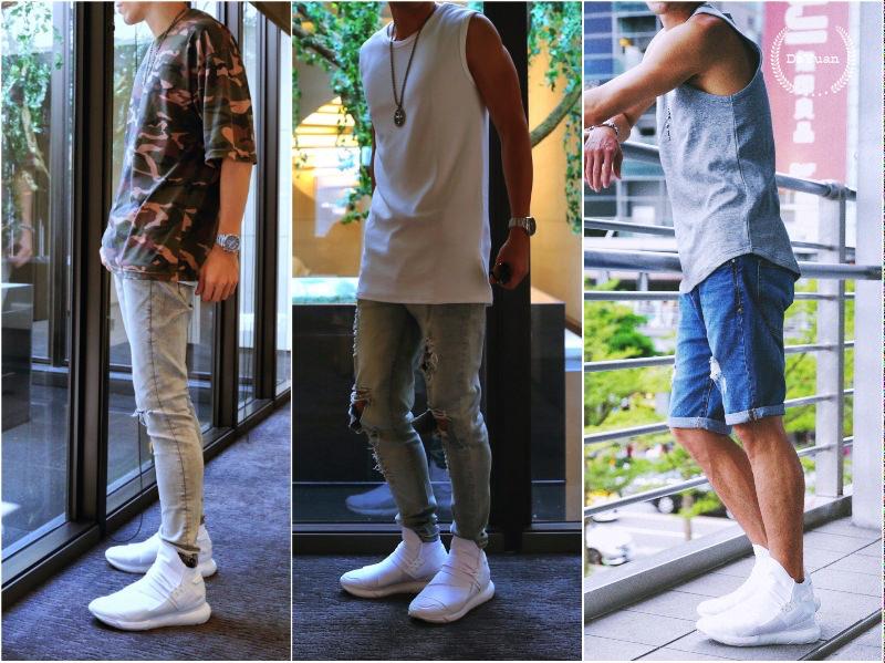 [帥鞋] Y-3 QASA HIGH 全白鞋超好搭!3+1套穿搭建議與分享