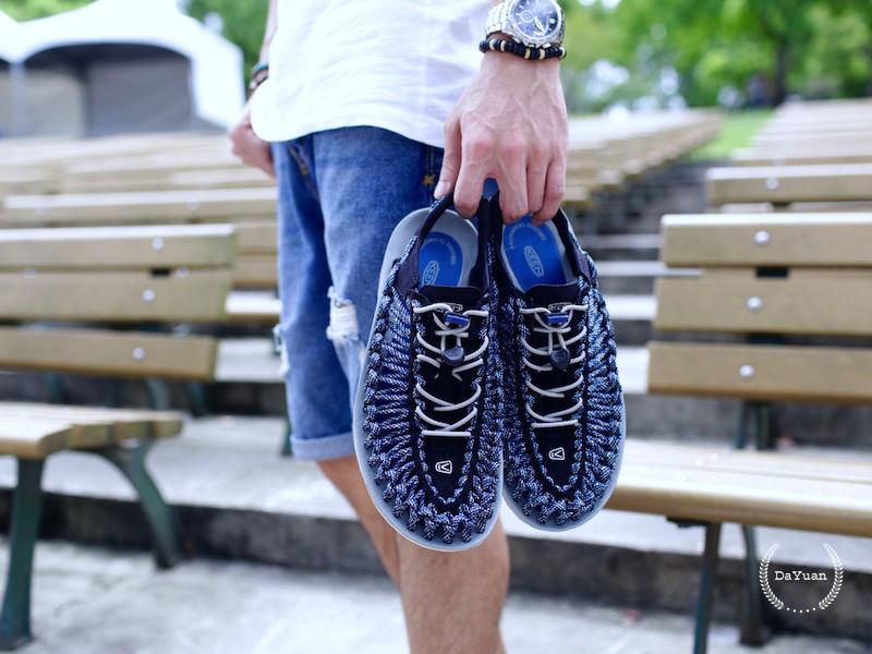 [帥鞋] 男生涼鞋如何穿?KEEN編織涼鞋實穿與搭配分享