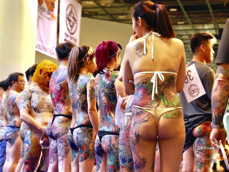 [Tattoo] 2017台灣國際紋身藝術展廢話心得