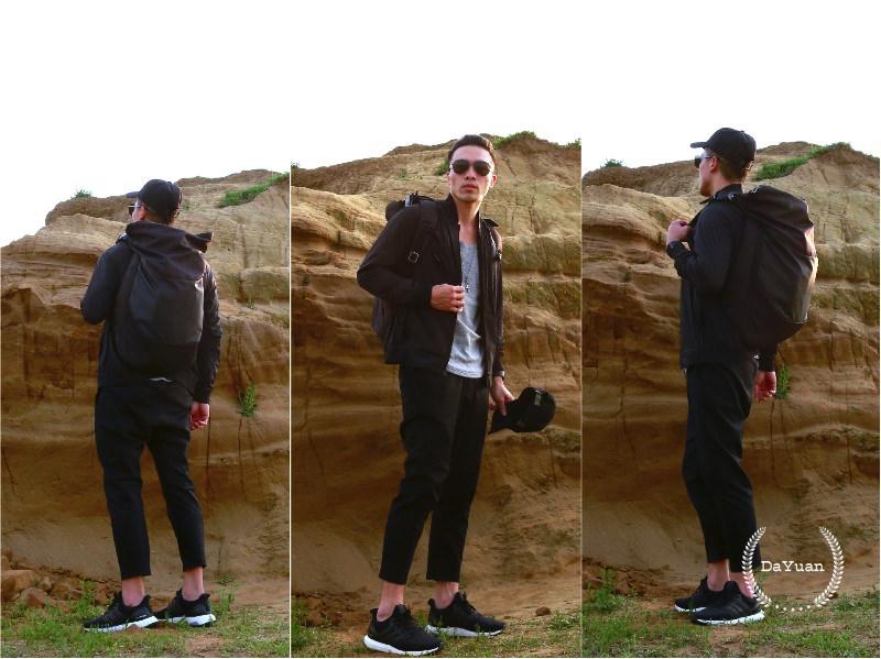 [運動] Nike機能長褲+Tech Pack MA-1外套 暗黑機能穿搭