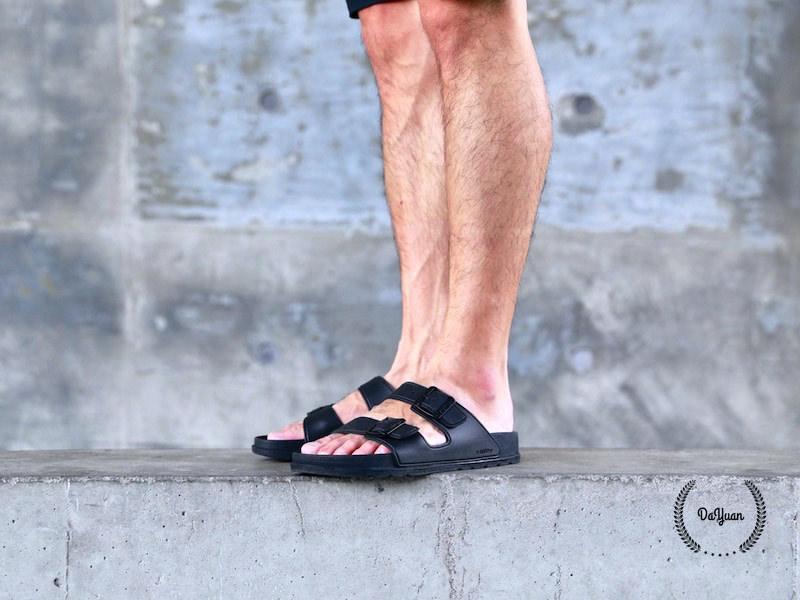 帥鞋|Mijily男生涼鞋+白襯衫hen強大