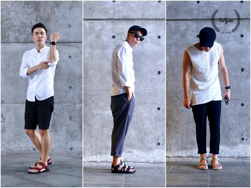 [帥鞋] Teva男生涼鞋的3種微正式穿搭