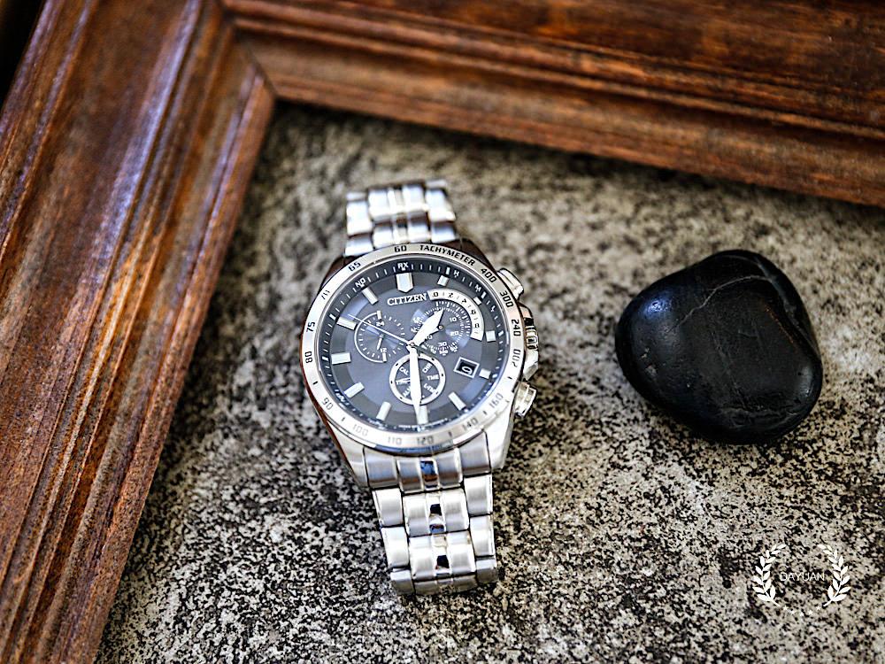 [腕錶] 生涯首支 CITIZEN ECO-Drive 光動能電波時計