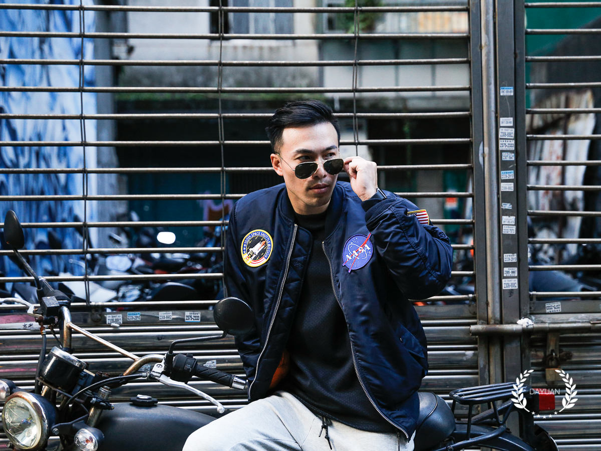 穿搭|Alpha Industries NASA MA-1 飛行夾克