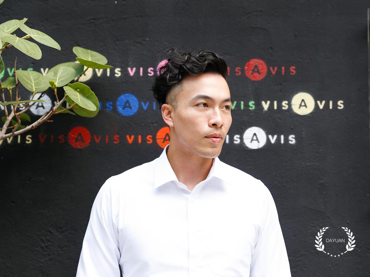 髮型|台北男生燙髮 斐瑟萃 Asa 好整理的捲髮造型