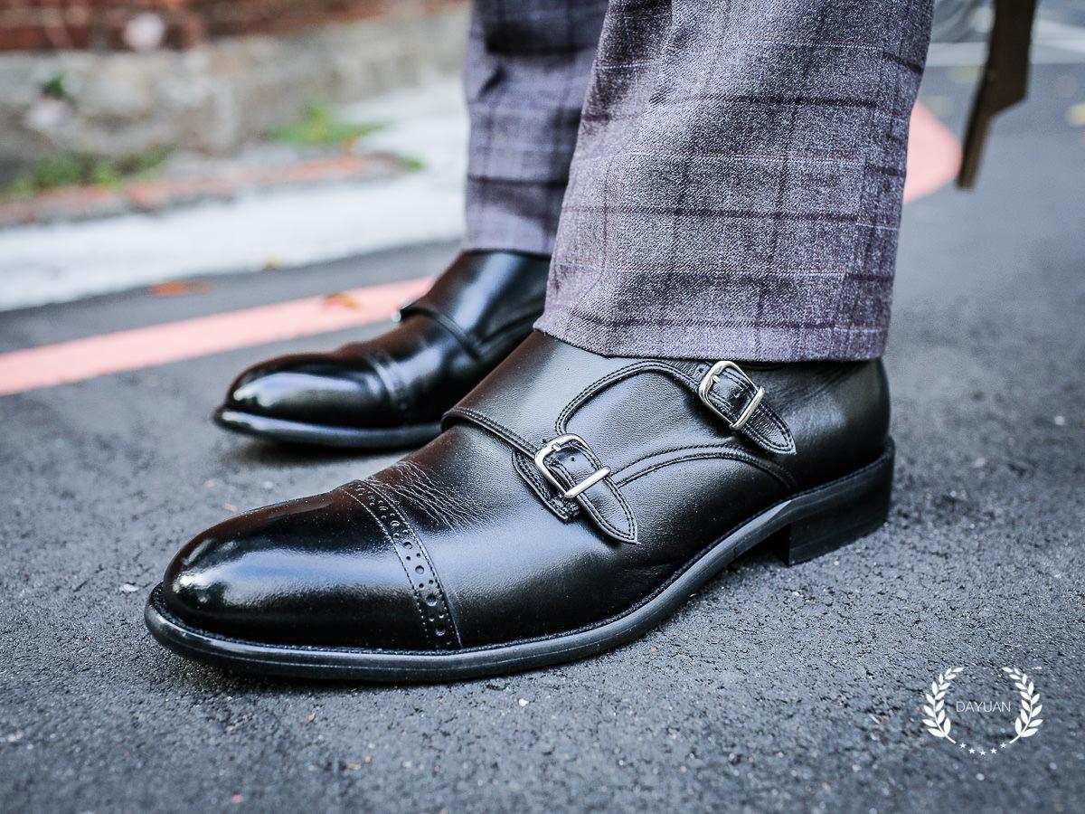 皮鞋|林果良品孟克鞋 實穿與搭配心得
