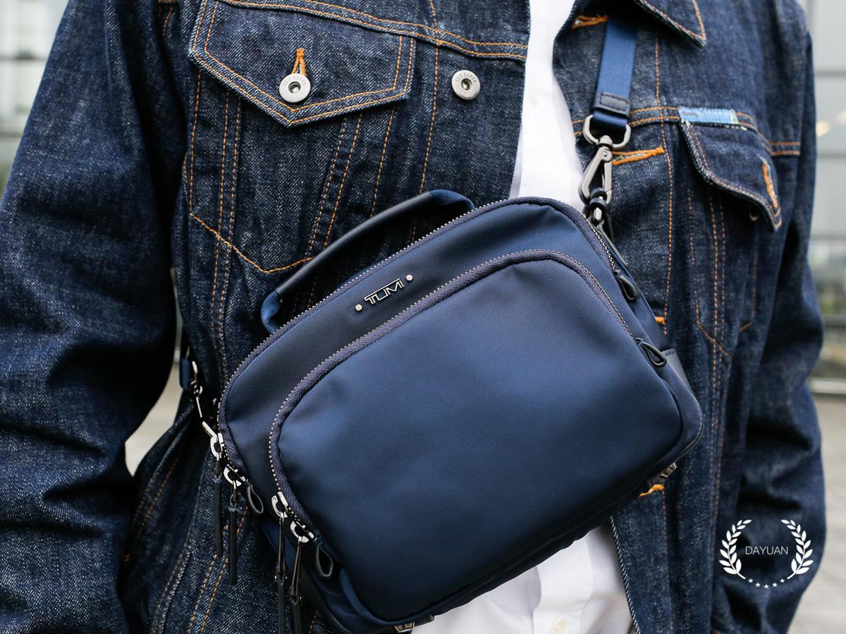 配件|腰包時尚 適合成熟男性的TUMI小包