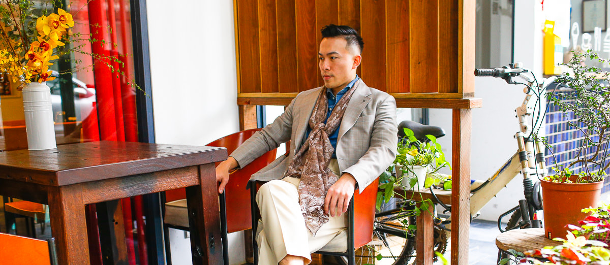西裝|春夏法式訂製西裝 by Kenny Yen Bespoke