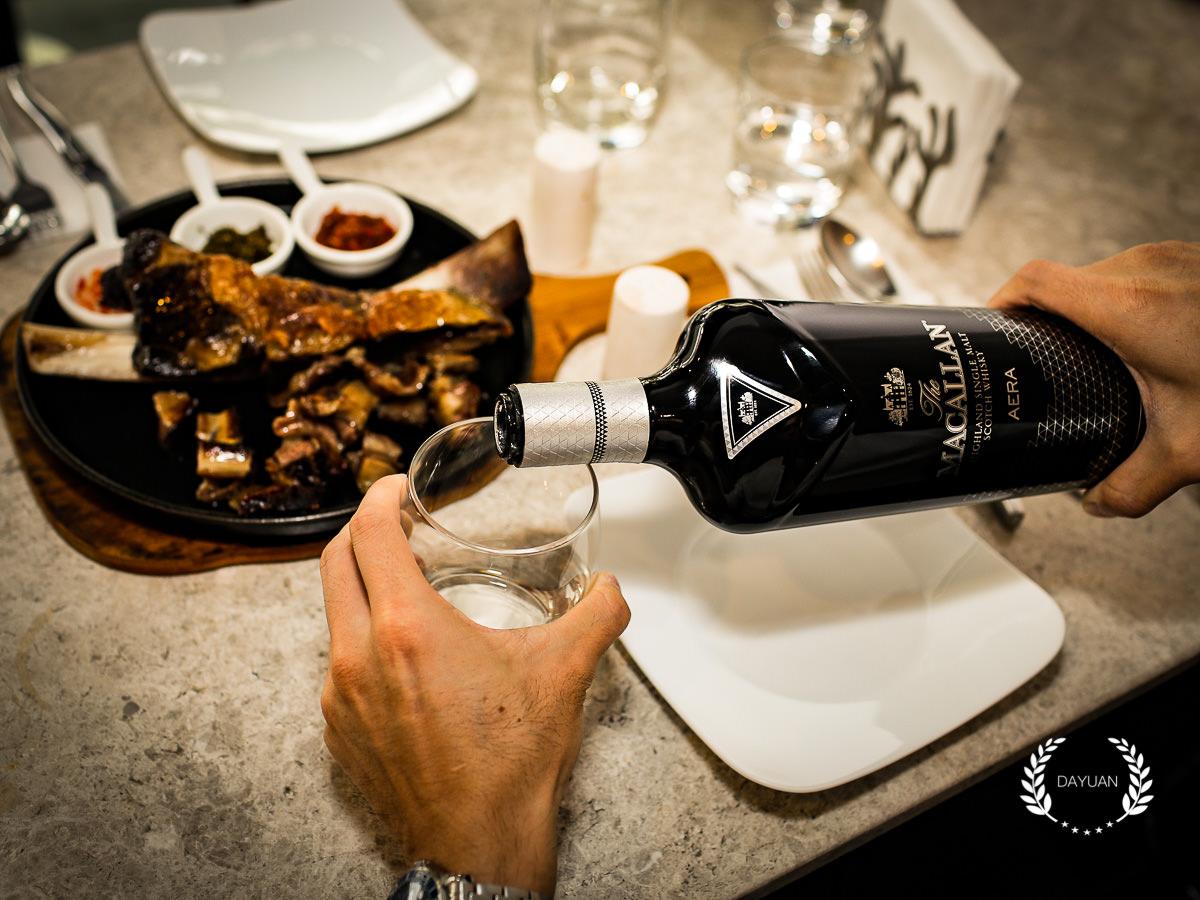 品酒 MACALLAN麥卡倫 AERA御黑  紀念人生里程碑