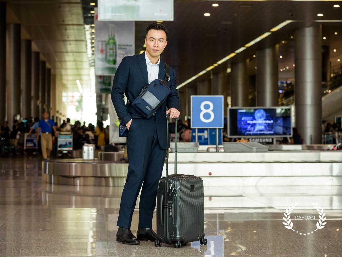 行李箱|TUMI latitude系列 20吋登機箱 內外細節+使用心得