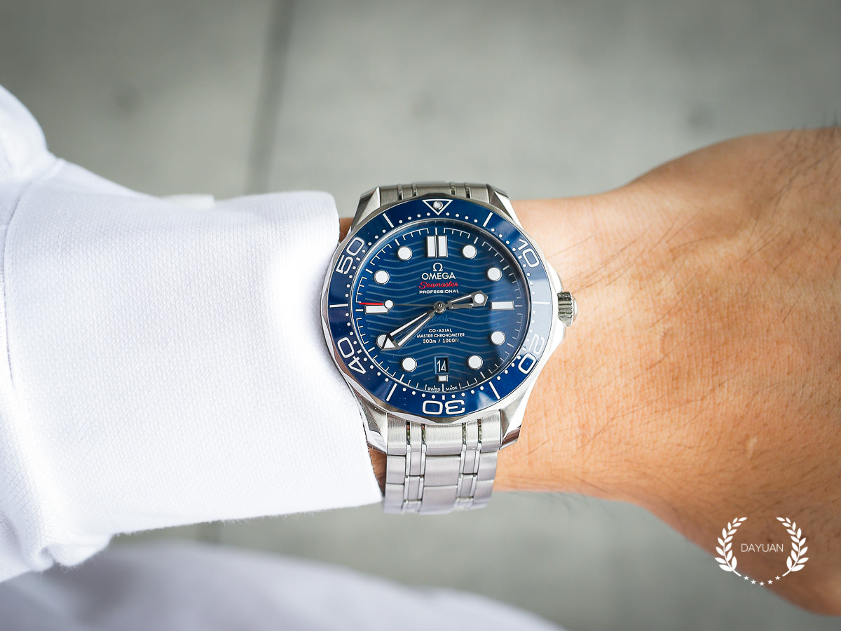 腕錶|OMEGA Seamaster 300 Diver 無懈可擊的藍面海馬