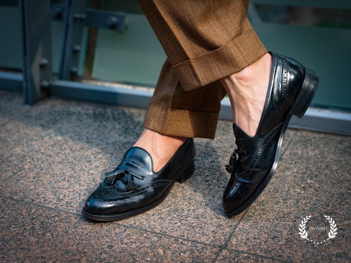 皮鞋 7種正式+休閒 樂福鞋穿搭 BURBERRY Tassel Loafers