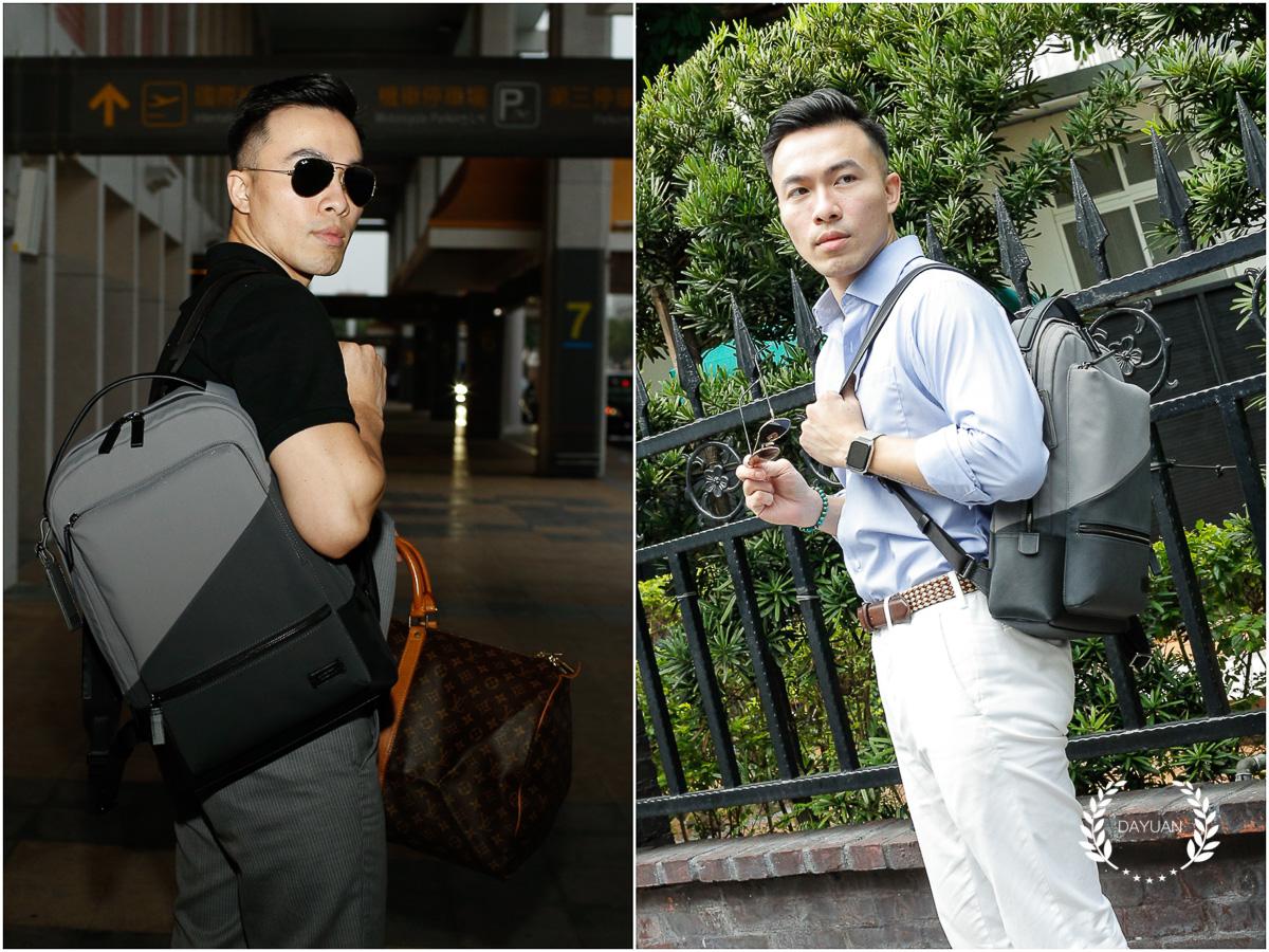 男包|難得一見的TUMI Harrison商務後背包