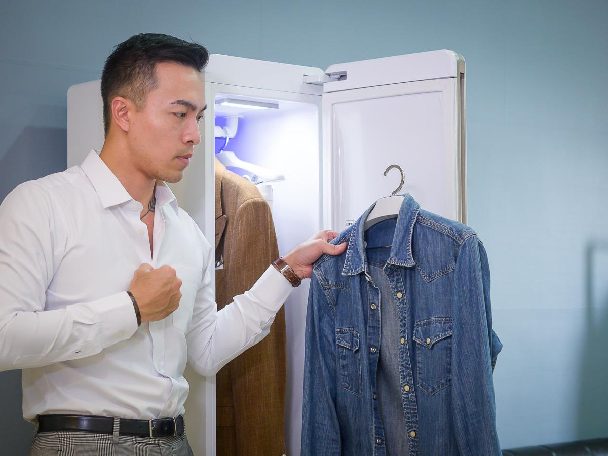 評測|主打雙重除菌、烘乾、除皺除臭的Panasonic電子衣櫥N-RGB1R實用嗎?
