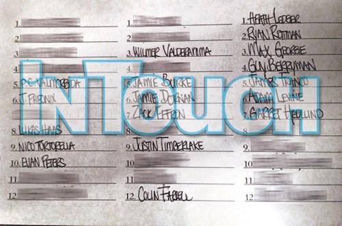琳賽蘿涵的床伴名單