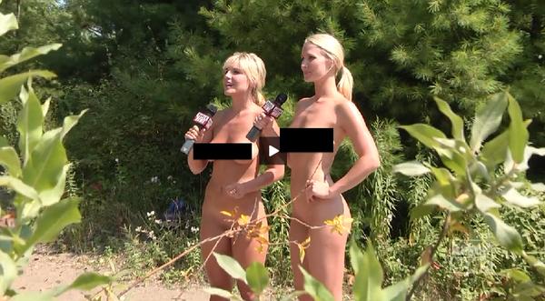 米國的裸體新聞
