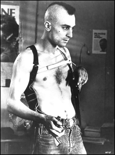 Robert DeNiro in taxi driver