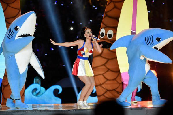 Katy Perry 美式足球超級盃Super Bowl 精采表演影片