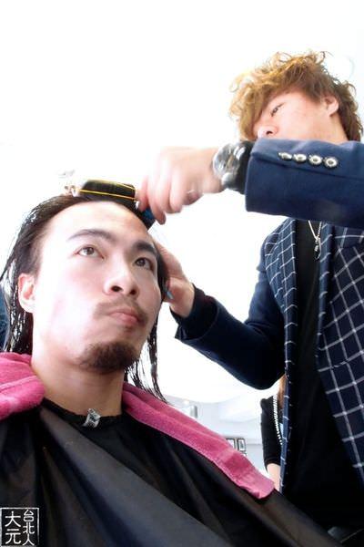 第三度找尚洋Benny燙頭毛