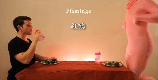 模仿動物吃飯4
