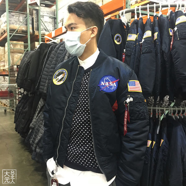 桑心的Costco線上購物買MA-1經驗