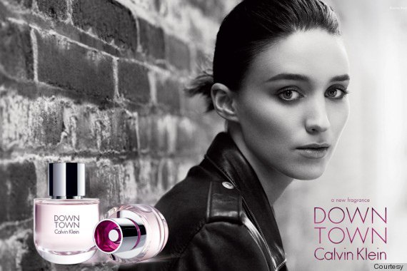 魯妮瑪拉Rooney Mara為CK拍攝香水廣告