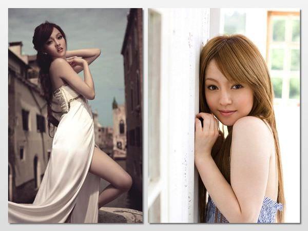 張韶涵vs櫻井莉亞1